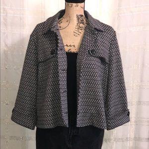 Short waisted blazer